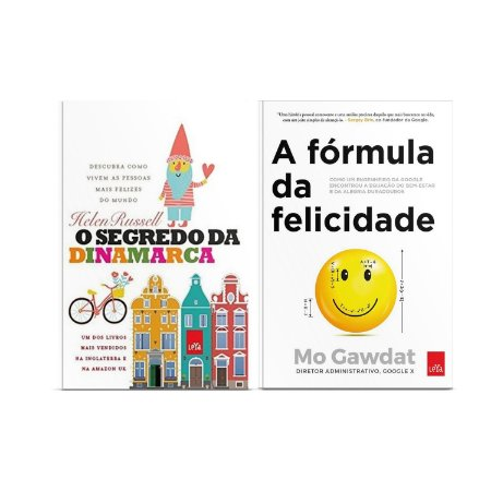 KIT Livros O segredo da Dinamarca + Fórmula da Felicidade