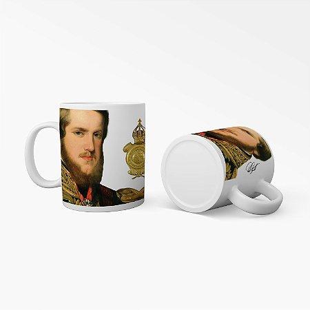 Caneca História não contada - D Pedro II