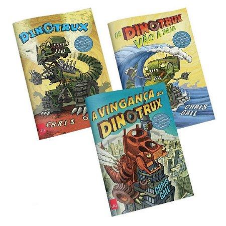 KIT livros Dinotrux + A vingança dos Dinotrux + Os Dinotrux vão à praia