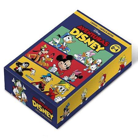 BOX HQ Aventuras Disney - Edições de 0 a 4