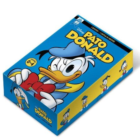 BOX HQ Disney Pato Donald - Edição 03