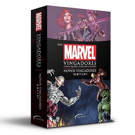 Box Marvel Vingadores: Todos Querem Dominar o Mundo