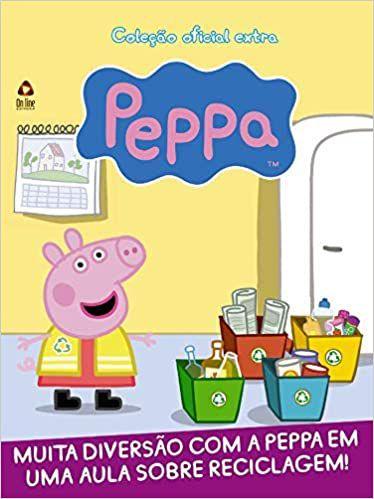 Peppa Pig - Coleção Oficial Extra - BRINDE 01 copo