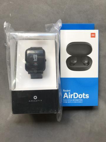 COMBO: Amazfit Bip Lite + Redmi AirDots
