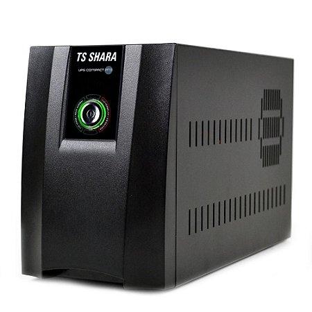 Nobreak TS Shara UPS Compact Pro 1400VA, 6 Tomadas, Bivolt