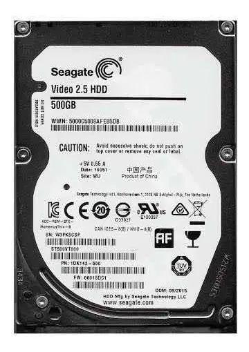 Hd 500 Gb Seagate Para Notebook 7mm 2,5 Lacrado