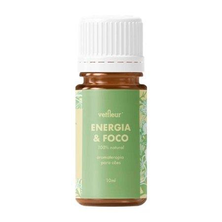 Aromaterapia para Cães Blend  Energia e Foco 10ml Vetfleur