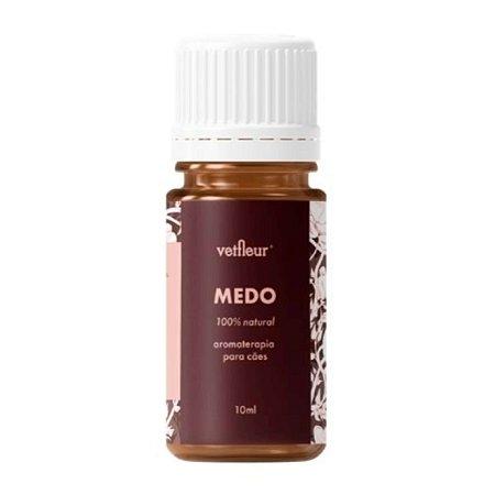 Aromaterapia para Cães Blend Medo 10ml Vetfleur