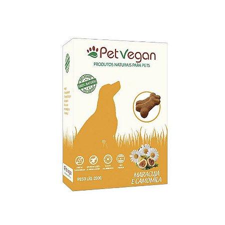 Biscoito Natural para Cães Maracujá e Camomila 200g PetVegan