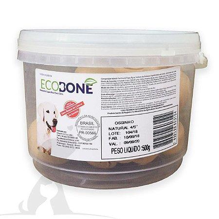 Ossinho para Cachorro Natural 4/5 com 6 un - EcoBone