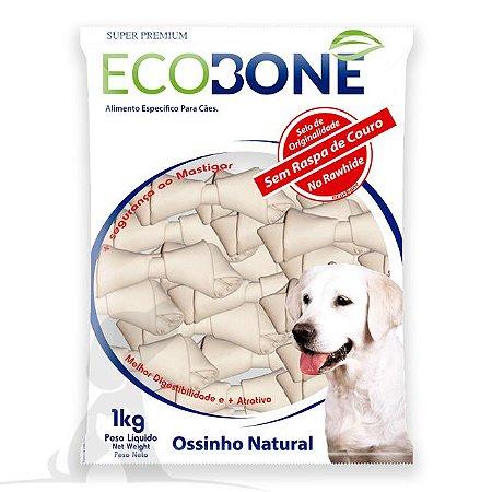 Ossinho para Cachorro Natural 5/6 com 10 un - EcoBone