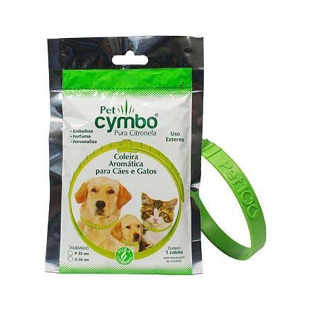 Coleira Natural Antipulgas Carrapatos para Cachorro Pet 100 Cymbo