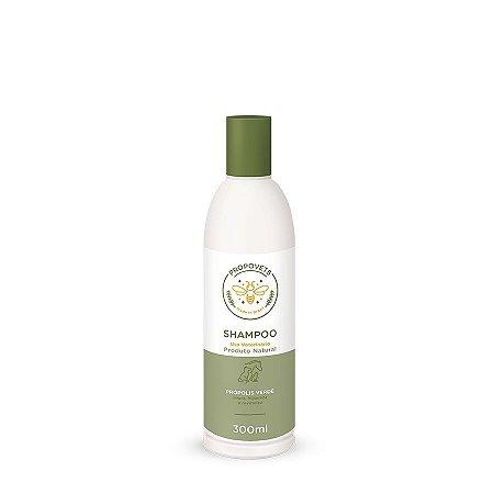 Shampoo Natural para Cães e Gatos Própolis Verde 300ml Propovets