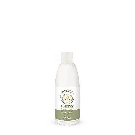 Shampoo Natural para Cães Gatos Própolis Verde 100ml Propovets