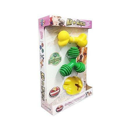 Kit Brinquedo para Cachorro Raças Furacão Pet