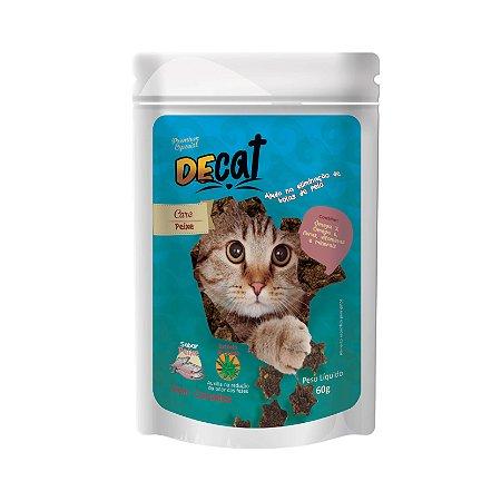 Petisco Natural para Gatos DeCat 60g Bf Foods