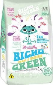 Ração Natural 100% Vegetal para Gatos BichoGreen