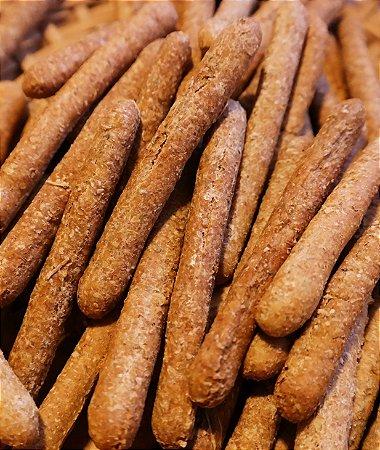 Biscoito Artesanal Natural de Fígado Bovino e Fígado de Frango - baba cão