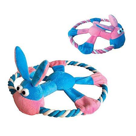 Brinquedo para Cachorro Cão com Corda - Chalesco