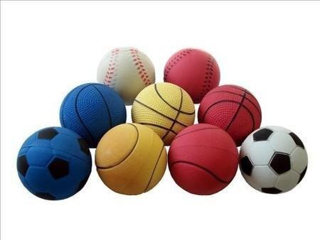Brinquedo para Cachorro Bola Tênis de Borracha Grande Chalesco