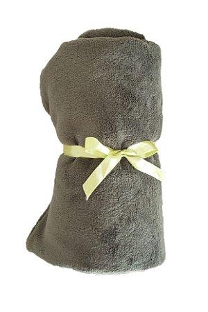 Manta Cobertor e Cetim Dupla Face Verde - ZenPet