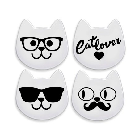 Kit Porta Copos Gatos Catlover CatMyPet