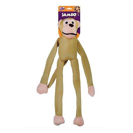 Brinquedo para Cachorro Macaco Mesh Grande Ouro