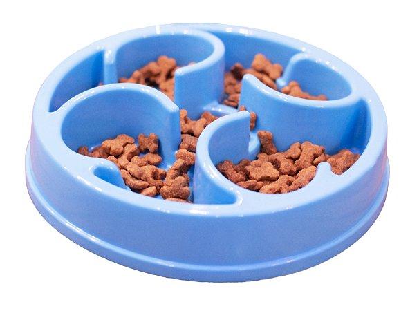 Pote Comedouro Funcional para Cães Nível Intermediário Azul Órien Pet