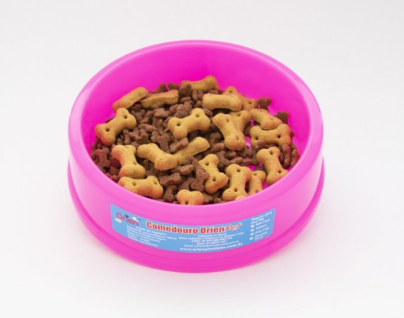 Pote Comedouro para Cães Pequenos Rosa  Órien Pet
