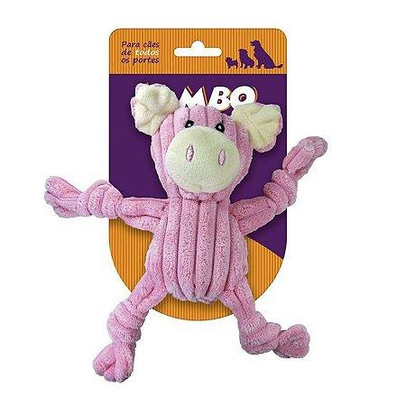 Brinquedo para Cachorro Mordedor Nó Porco Pelúcia Jambo Pet