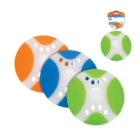 Brinquedo para Cachorro Disco Duradisco Azul Branco Chalesco