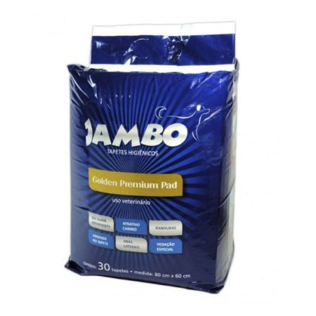 Tapete Higiênico para Cães Golden Premium 30 un Jambo Pet