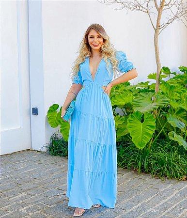 Vestido longo Sia