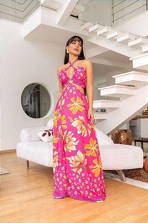 Vestido longo Kiara