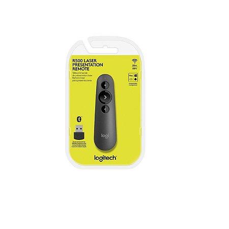 Apresentador Sem Fio Logitech Wireless R500 Laserpoint