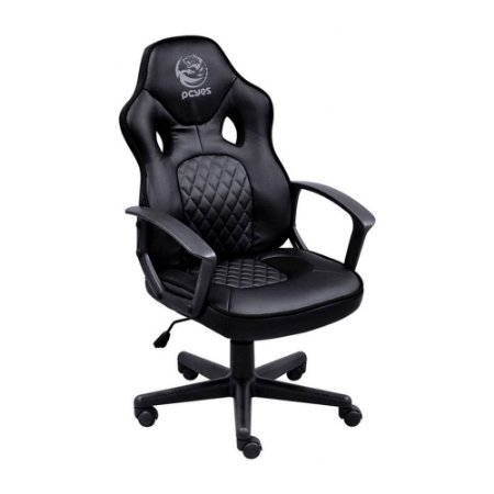 Cadeira Gamer Pcyes Mad Racer Sti Master, Reclinável, Black, Madstimspt