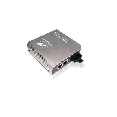 Conversor De Midia Gts Network 751806c 2pt 10/100+1pt 100mbp