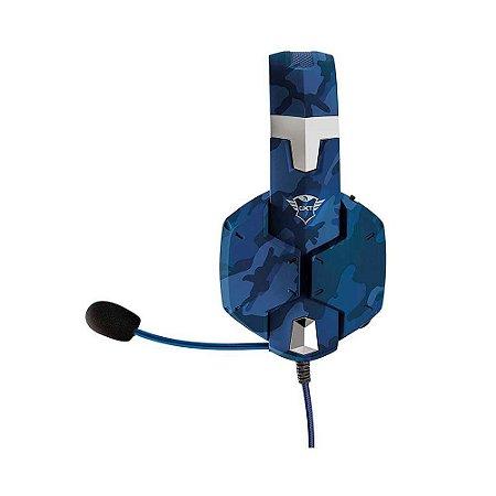 Headset Gamer Trust Gxt 322b Carus Azul T23249