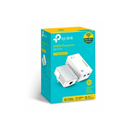 Kit Powerline Wi-fi Tp-link Tl-wpa4220 Av600 Tll-wpa4220kit