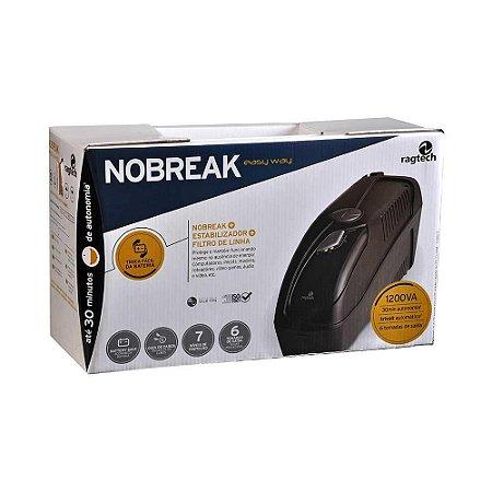 Nobreak Ragtech Easy Way 700V Engate Bateria Trivolt 115v