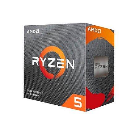 Processador Amd Ryzen 5 3600 Cache 32mb 3.6ghz Am4 Sem Vídeo
