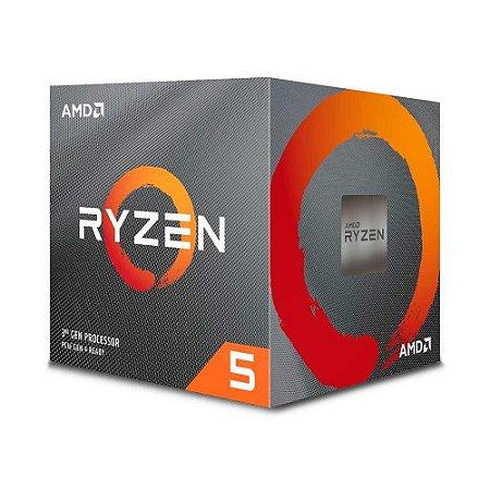 Processador Amd Ryzen 5 3600x Cache 32mb 3.8ghz Am4 S/ Vídeo