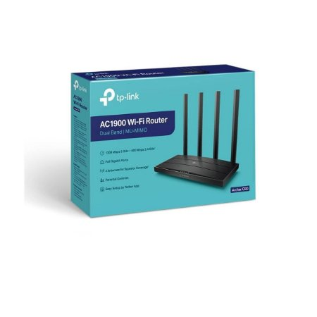 Roteador Wireless Gigabit Dual Band Ac 1900mbps Archer C80