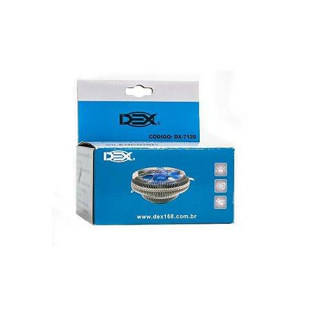 Cooler Dex P/ Processador Universal Amd E Intel - Dx-7120