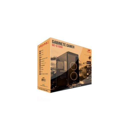 Gabinete Gamer C3 Tech Mt-g1000bk S/fte