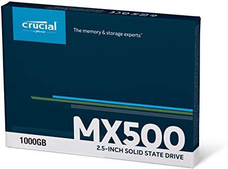 Disco sólido interno Crucial CT1000MX500SSD1 1TB