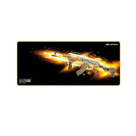 Mousepad Gamer C3 Tech Killer Fire Control Extra G Mp-g1000