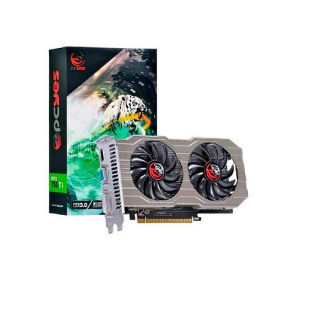 Placa De Vídeo 2gb Gddr5 Pcyes Geforce Gtx 750ti G5 128 Bits