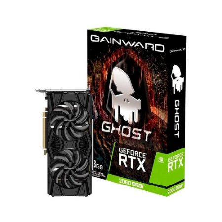 Placa De Vídeo Gainward Nvidia Geforce Rtx 2060 Super Ghost, 8gb, Gddr6 - Ne6206s018p2-1160x