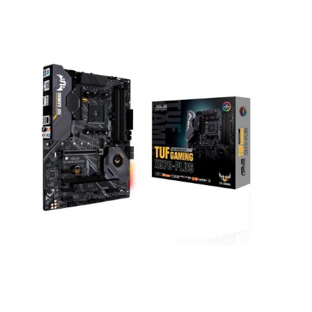 Placa-mãe Asus P/am4 Atx Tuf X570-plus Gaming Ddr4